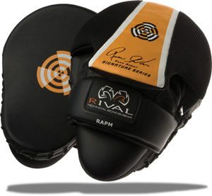 Лапы для Отработки Ударов Rival High Performance Series Punch Mitts by Russ Anber